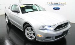 ***AUTOMATIC***, ***POWER SEAT***, ***TECH PACKAGE***, ***SYNC PACKAGE***, ***CLEAN ONE OWNER CARFAX***, and ***LIMITED SLIP***. American Icon! This 2014 Mustang is for Ford nuts looking the world over for just the right good-time car. It will make