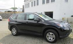 To learn more about the vehicle, please follow this link: http://used-auto-4-sale.com/108762358.html ***CLEAN VEHICLE HISTORY REPORT***, ***ONE OWNER***, and ***PRICE REDUCED***. CR-V LX, 2.4L I4 DOHC 16V i-VTEC, 5-Speed Automatic, AWD, and Black.