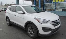 The 2014 Hyundai Santa Fe has a classy interior design, lots of standard features for the money, and an easy-to-use electronic interface. * Engine: 2.4 L Inline 4-cylinder - Drivetrain: All Wheel Drive - Transmission: 6-speed Automatic - Horse Power: 190