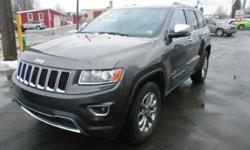 ***CLEAN VEHICLE HISTORY REPORT***, ***ONE OWNER***, and ***PRICE REDUCED***. Grand Cherokee Limited, 3.6L V6 Flex Fuel 24V VVT, 4WD, and Black. How would you like riding away in this outstanding-looking 2014 Jeep Grand Cherokee at a price like this? You