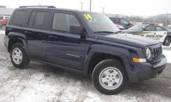 4WD. Stability and traction control show unswerving dedication. Traction control keeps you as straight as an arrow. This fantastic 2014 Jeep Patriot is the rare family vehicle you have been searching for. With as much fun as the Patriot is, it's deserving