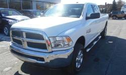4WD. Delivers straight up traction control. Does a great balancing act. This stunning 2014 Dodge Ram 2500 is the rare family vehicle you have been looking for. Load this Ram 2500 down with passengers, cargo, whatever! This truck's cavernous space will