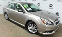 To learn more about the vehicle, please follow this link: http://used-auto-4-sale.com/108450964.html Sensibility and practicality define the 2014 Subaru Legacy! This is a superior vehicle at an affordable price! With less than 40,000 miles on the