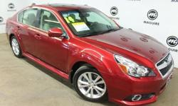 To learn more about the vehicle, please follow this link: http://used-auto-4-sale.com/108507379.html Discerning drivers will appreciate the 2014 Subaru Legacy! A comfortable ride in a go-anywhere vehicle! Top features include leather upholstery, front