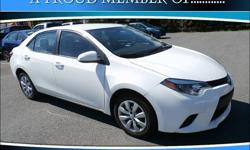 To learn more about the vehicle, please follow this link: http://used-auto-4-sale.com/108681017.html Discerning drivers will appreciate the 2014 Toyota Corolla! It just arrived on our lot, and surely won't be here long! This 4 door, 5 passenger sedan just
