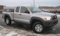 ***CLEAN VEHICLE HISTORY REPORT***, ***ONE OWNER***, and ***PRICE REDUCED***. 4D Access Cab, 4WD, and Gray. Dare to compare! Put down the mouse because this charming 2014 Toyota Tacoma is the high reliability truck you've been hunting for. And like a