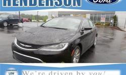 To learn more about the vehicle, please follow this link: http://used-auto-4-sale.com/108308802.html CLEAN CARFAX and ONE OWNER. 4D Sedan and Black w/Premium Cloth Bucket Seats. Looks and drives like new.This wonderful 2015 Chrysler 200 is the car that