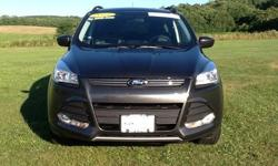 To learn more about the vehicle, please follow this link: http://used-auto-4-sale.com/108761412.html Ford Certified! 2015 Ford Escape SE in Magnetic, Bluetooth for Phone and Audio Streaming, Rearview Camera, Navigation, Power Panorama Roof, Power