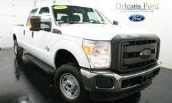 ***8' BOX***, ***6.7L DIESEL***, ***POWER EQUIPMENT GROUP***, ***DAYTIME RUNNING LIGHTS***, ***CREW CAB***, ***CAMPER PACKAGE***, and ***TRAILER TOW***. This 2015 F-250SD is for Ford lovers looking everywhere for that perfect truck. This bold, commanding
