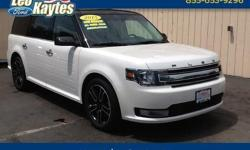 To learn more about the vehicle, please follow this link: http://used-auto-4-sale.com/108613334.html 2015 Ford Flex SEL in White Platinum Metallic Tri-Coat, Bluetooth for Phone and Audio Streaming, Rearview Camera, Navigation, Panoramic Roof, All Wheel