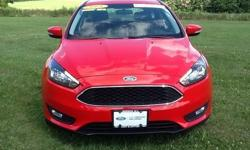 To learn more about the vehicle, please follow this link: http://used-auto-4-sale.com/108681860.html Ford Certified! 2015 Ford Focus SE in Race Red, Bluetooth for Phone and Audio Streaming, 36 Miles Per Gallon! Leather Interior, AM/FM CD/MP3 Player with