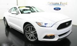 "***NAVIGATION***, ***AUTOMATIC***, ***ECOBOOST***, ***PREMIUM PKG***, ***CLEAN CARFAX***, ***18"""" ALUMINUM WHEELS***, and ***SAVE MONEY !! ***. Tired of the same mundane drive? Well change up things with this great-looking 2015 Ford Mustang. This"