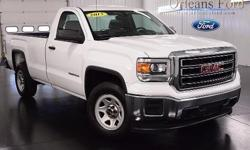 To learn more about the vehicle, please follow this link: http://used-auto-4-sale.com/108678469.html *WORK TRUCK*, *PRICED TO SELL*, *8 BOX*, *12 IN STOCK*, and *GMC TOUGH*. Takes charge with aplomb. This 2015 Sierra 1500 is for GMC fans looking all