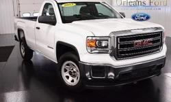 To learn more about the vehicle, please follow this link: http://used-auto-4-sale.com/108678474.html *WORK TRUCK*, *PRICED TO SELL*, *8 BOX, *CLEAN CARFAX*, and *GMC TOUGH*. Stout! Has a loyal following for a reason. This 2015 Sierra 1500 is for GMC