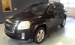 Safety equipment includes: ABS Traction control Curtain airbags Passenger Airbag Front fog/driving lights...Other features include: Leather seats Bluetooth Power locks Power windows Heated seats...This gas-saving 2015 GMC Terrain SLT-1 will get you where