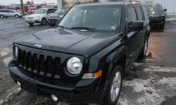 ***CLEAN VEHICLE HISTORY REPORT*** and ***ONE OWNER***. Patriot Latitude, 2.4L I4 DOHC 16V Dual VVT, CVT with Off Road Crawl Ratio, 4WD, and Black. Set down the mouse because this 2015 Jeep Patriot is the SUV you've been looking for. Jeep has established