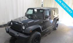 To learn more about the vehicle, please follow this link: http://used-auto-4-sale.com/107644565.html CLEAN VEHICLE HISTORY/NO ACCIDENTS REPORTED, ONE OWNER, BLUETOOTH/HANDS FREE CELL PHONE, 2 SETS OF KEYS, REMAINDER OF FACTORY WARRANTY, RUBBER JEEP MATTS,