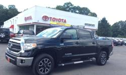 To learn more about the vehicle, please follow this link: http://used-auto-4-sale.com/108545672.html 2015 BLACK TOYOTA TUNDRA SR5 CREWMAX 4X4-MUST SEE-SHOWROOM CONDITION!!!!5.7L 8CYL-6 SPEED AUTOMATIC TRANSMISSION-OFF ROAD CAPABILITY-REMOTE KEYLESS
