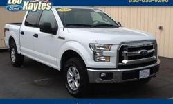 To learn more about the vehicle, please follow this link: http://used-auto-4-sale.com/108452111.html Ford Certified! 2016 Ford F-150 XLT in Oxford White and Bluetooth for Phone and Audio Streaming. 4-Wheel Disc Anti Lock Brakes, Alloy wheels, Fully
