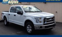 To learn more about the vehicle, please follow this link: http://used-auto-4-sale.com/108660048.html 2016 Ford F-150 XLT in White, Bluetooth for Phone and Audio Streaming, 4 Wheel Drive, GVWR: 7,000 lbs Payload Package, 4-Wheel Disc Brakes, Alloy wheels,