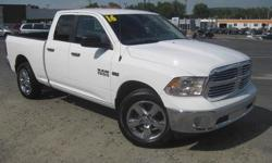 To learn more about the vehicle, please follow this link: http://used-auto-4-sale.com/108762261.html ***CLEAN VEHICLE HISTORY REPORT***, ***ONE OWNER***, and ***PRICE REDUCED***. Ram 1500 SLT, 4D Quad Cab, HEMI 5.7L V8 Multi Displacement VVT, 8-Speed
