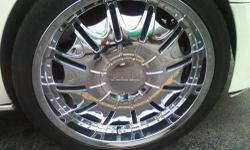 FOR SALE 22 IN 5 LUG UNIVIRSAL RIMS. $1,000.00 OR BO WILL ACCEPT $800.00 PLEASE TEXT FOR MORE INFORMATION 585-201-4777