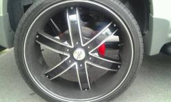 FOR SALE 26 IN RIMS. $2100.00 OR BEST OFFER WILL ACCEPT $1,850.00 PLEASE TEXT FOR MORE INFORMATION 585-201-4777