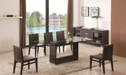 Cherry Finish Solid Wood 5 Piece Dinette Set. Includes Table and 4-Chairs. Easy to assemble. Table Size: 42 In.(Dia.)