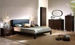 Free shipping within the 5 boroughs of NYC ONLY! All other areas must email or call us for a freight quote. TOLL FREE 1-877-336-1144 This Bedroom Set is manufactured in contemporary style. The set is crafted from durable wood materials and veneers. The