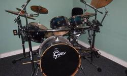 I am selling my drum set and rack. I have played this set a total of 10 hours in the last three years. Set was purchased on 12/24/2011. I am selling the shell pack of drums and Gibraltar Rack system. You only need a stool and a pair of stick to start