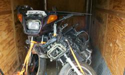1 complete bike and 1 for parts low mileages title for complete bike multiple hardbags same engine and transmission as Vmax but built like a honda Goldwing will take reasonable offer