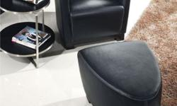 Quick and FREE Shipping within New York City. For more information call us or visit our page:https://www.furniturenyc.net/accent-chairs.html This chair is incredibly comfortable! Made entirely of leather, the chair has a wooden frame. Features: Modern