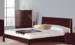 Quick and FREE Shipping within New York City. For more information call us or visit our page:https://www.furniturenyc.net/beds.html This Alpha Platform Bed is sure to increase not only the comfort, but luxury of your home. Crafted from teak veneer in a