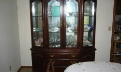 ANTIQUE CHINA CLOSIT 1900- 1930 THIS S A UNIQUE VERY NICE UNIT IT HAS A WIRE MESH DOOR THAT COMES WITH A KEY THERE ARE FOUR OPTIONAL CASTERS THAT ARE IN THE DRAW INCLUDES THREE GLASS SHELVES AND THE BACK WALL HAS A MIRROR THINK IT IS MADE FROM CHERRY
