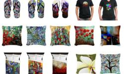 Elena Feliciano art inspired home goods and apparel. Visit Elena Feliciano Art at www.cafepress.com/elenafelicianoart Fall in love with your home. Turn your rooms into something spectacular by adding designs that inspire you to love the home you have.