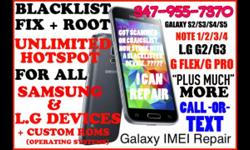 F YOUR PHONE HAS BEEN BLACBKLISTED FOR WHATEVER THE REASON THIS IS THE SERVICE YOU HAVE BEEN LOOKING FOR REPAIR SERVICE FOR MODELS I997 I927 I917 I9100 I9000 I900 I897 I857 I847 I827 I777 I747 I727 I717 I437 I337 I337M I317 M919 T999 T989 T959 T959V T889
