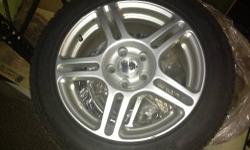 Bridgestone Blizzak Studless Winter Tires in excellent condition-set of 4. Very limited use, about 70% of tread remaining, rims are like new, all low miles, 205-55/R16/91Q Make offer. Car was sold without additional set of tires. Located in Brighton,