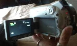 I have a cannon camcorder. It records mini dvds. Works great only used a couple of times. In new condition. Comes with battery,charger,and carrying bag. please contact me if you have any ??? 315-777-6561
