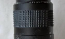 JUST REDUCED FALL SALES At a mere 9 oz, the Canon EF II may seem too good to be true, but this lightweight, budget-priced telephoto lens delivers. This auto and manual camera lens is only 78.5 mm long, a tiny as well as lightweight solution that offers an