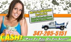 We will pay top cash for your cars & trucks , No matter any condition . Fast pick up. We also have Towing service . Give me a call today to get a quote (347)680-1532 ... Andrew