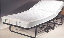 Complete Royal Folding Bed (RBFFS) Complete Metal Folding Cot With Springs And Premium Foam Mattress. Spring Mattress available at extra cost. Special Ball-Bearing Wheels included. No assembly required. Available in 30, 39 and 48 In. Size. with 4 In. or 5