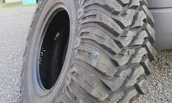 This is a brand new tire Never mounted . . . Was a display tire at shop. Retails for $350-$450 Highly rated for any off-road . . . Check out any reviews online Thanks