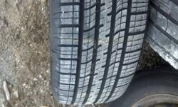 Cooper Response 215/60/15 M&S Tire Like New on Rim, came off 99 Pontiac Grand Am but will fit many GM cars (5 bolt pattern) I have all 4 tires and rims available, other 3 tires are no good. This tire is almost brand new and is $75.00 plus tax & mounting &