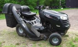 Craftsman Lawn Tractor model YS4500, 24hp Briggs & Stratton OHV engine, 42in deck with bagger. New blades, new filters (oil, air, fuel) and fresh oil. 226 hrs. Ready to cut lawn, selling because I recently bought a zero-turn. 850.00 OBO