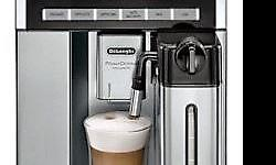 Brand New De'Longhi Prima Donna Exclusive Automatic Cappuccino Maker with Chocolate Function Only $2,499 Model #: De'Longhi Prima Donna ESAM6900M MSRP: $3,999.99 BRAND NEW IN BOX WITH SERIAL #'S AND FULL MANUFACTURERS WARRANTY! Features: *Color display