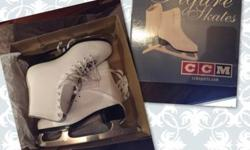 Brand-new figure skates, size 8 ( fit regular shoes size 8,5-9) This ad was posted with the eBay Classifieds mobile app.