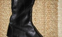 ? New in box -Never Worn- was my 2nd pair - Women's Original 2006 GENTLE SOULS (pre-Kenneth Cole, was $185) Beowulf Black leather Boots, Size 38.5M (fits 7.5M in current Gentle Souls) ? Very comfortable soft-leather boot; great for walking, going out,