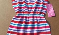 "Girls Sunsuit Size: 6X Height: 47-1/2""-49"" Chest: 25-1/2""-26"" Waist: 22-12""-23"" Hips: 25-1/2""-26-1/2"" Ties on the Shoulders New with Tags"
