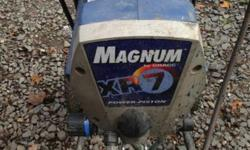 GRACO MAGNUM XR7 AIRLESS PAINT SPRAYER $285 IN FINE AND IN WORKING ORDER COMES WITH SPRAY GUN AND DIFFERENT SIZE TIPS HAS NORMAL WEAR FOR BEING USED RETAILS FOR $400 INCLD. TAX The Magnum X7 Airless Paint Sprayer is a great choice for homeowners or
