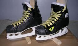 Graf 705 hockey skate size 4.5 reg. width. Skates used for one season and are in excellent cond. Orig. cost was $275.00. Asking $60 OBO Call 917-549-1240